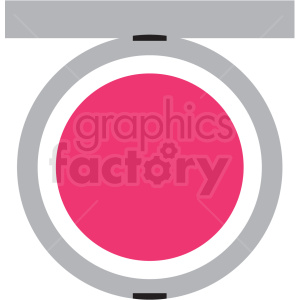 makeup blush kit vector clipart clipart. Royalty-free image # 411671