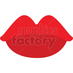 cartoon lips vector clipart clipart. Royalty-free image # 411678