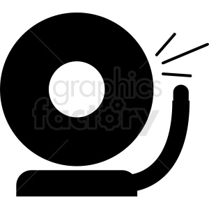 boxing bell ring vector clipart clipart. Commercial use image # 411903