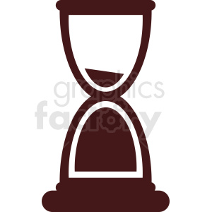 hourglass vector clipart clipart. Commercial use image # 411975