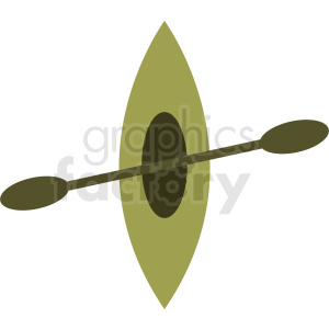 kayak vector clipart clipart. Royalty-free image # 412036