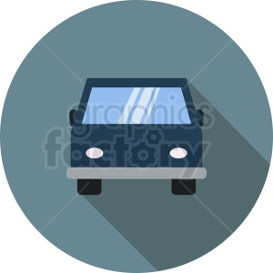 cartoon car vector icon clipart. Commercial use image # 412038