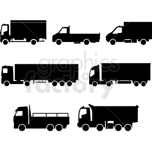 big rig clipart set clipart. Commercial use image # 412045