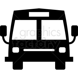 bus front end clipart clipart. Royalty-free image # 412047
