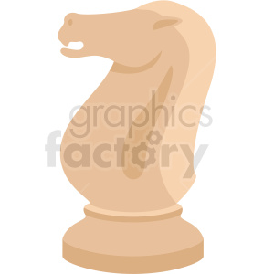 chess knight piece vector clipart clipart. Commercial use image # 412477