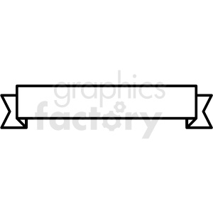 ribbon design vector clipart clipart. Commercial use image # 412559
