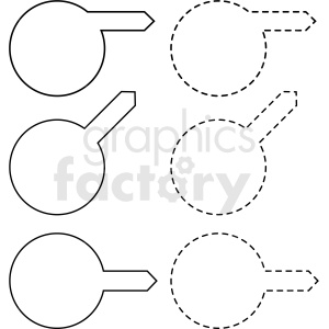 circle panel overlay border templates vector clipart clipart. Commercial use image # 412662