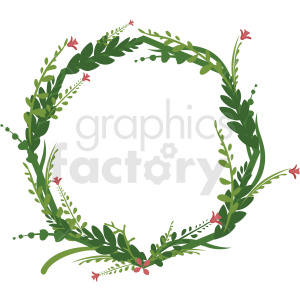 floral frame vector clipart clipart. Commercial use image # 412769