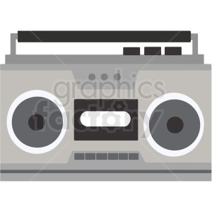 portable radio vector clipart. Commercial use image # 412834