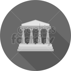 building pillars vector clipart 6 clipart. Commercial use image # 413464