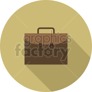 briefcase vector clipart 3