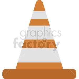 construction cone graphic clipart 2