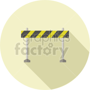 barricade roadblock vector graphic clipart 1 clipart. Commercial use image # 413644