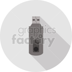 usb drive vector graphic clipart 1 clipart. Commercial use image # 413723