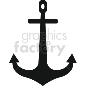 anchor vector icon graphic clipart 3 clipart. Royalty-free image # 413834