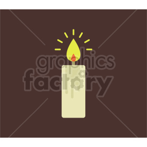 candle vector icon graphic clipart 1 clipart. Commercial use image # 413850