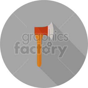 axe vector icon graphic clipart 8