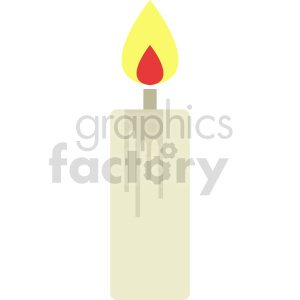 candle vector icon graphic clipart 3 clipart. Commercial use icon # 413919