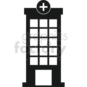 isometric hospital vector icon clipart 4 clipart. Commercial use image # 414002