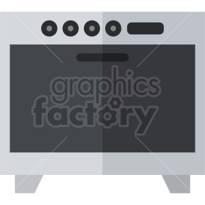 isometric oven vector icon clipart 2 clipart. Commercial use image # 414225