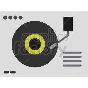 isometric record turn table vector icon clipart 2 clipart. Commercial use image # 414519