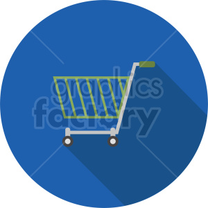 isometric shopping cart vector icon clipart 1 clipart. Commercial use image # 414568