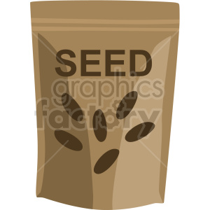 mini garden seed packet vector clipart clipart. Commercial use image # 414838