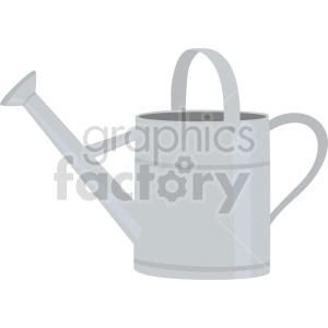 metal watering bucket vector clipart clipart. Commercial use image # 414850