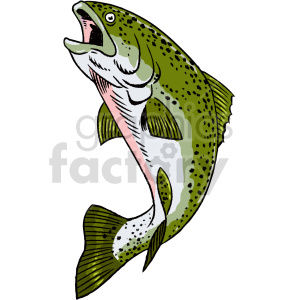 trout clipart