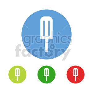 clipart - popsicle vector clipart set.