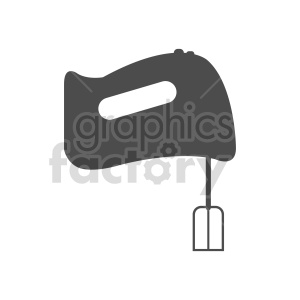 food mixer vector design clipart. Commercial use image # 415265