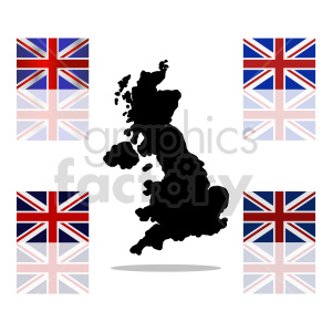 Great Britain flag vector clipart 07 clipart. Commercial use image # 415412