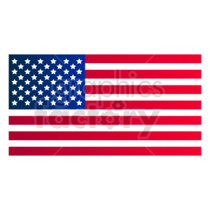 flag usa vector clipart clipart. Commercial use image # 415441