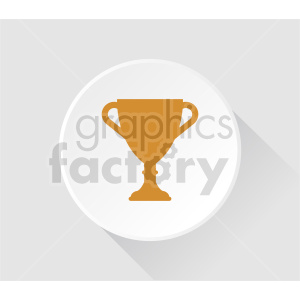 clipart - trophy icon vector clipart.