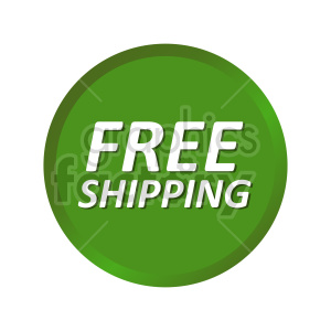 clipart - free shipping icon vector clipart.