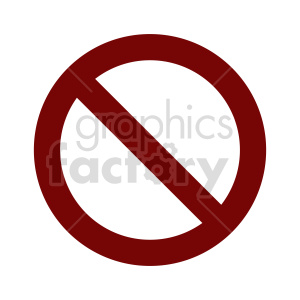 cancel sign vector graphic clipart. Commercial use image # 415483