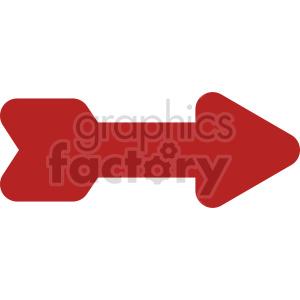 red arrow vector clipart
