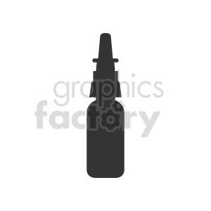 dropper bottle vector clipart