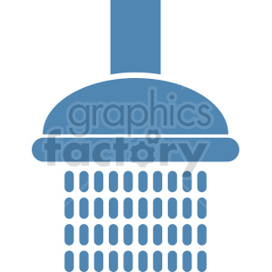 clipart - shower vector graphic icon.