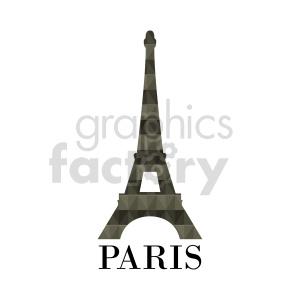 Eiffel Tower Paris France clipart. Commercial use image # 415675
