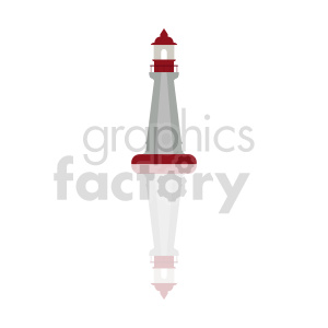 lighthouse graphic clipart. Commercial use image # 415684