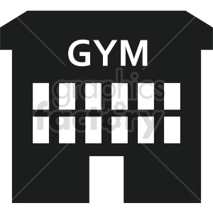 gym vector icon clipart. Commercial use image # 415717