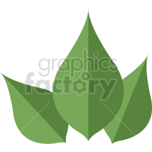 green leaf design clipart. Commercial use image # 415754