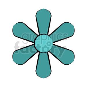clipart - flower vector clipart 10.
