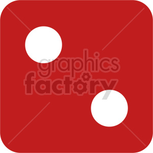 red dice vector clipart clipart. Commercial use image # 415838