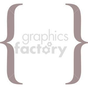 clipart - graffa symbol vector art.