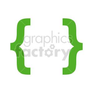 green graffa symbol vector clipart clipart. Commercial use image # 415879
