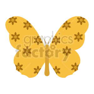 clipart - butterfly vector clipart 03.