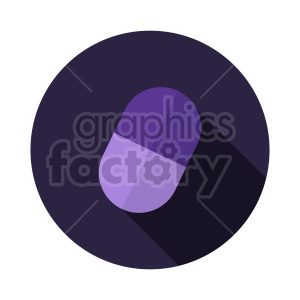 purple pill vector clipart clipart. Commercial use image # 415996