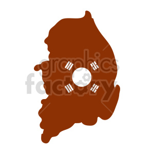 South Korea vector graphic clipart. Commercial use image # 416072
